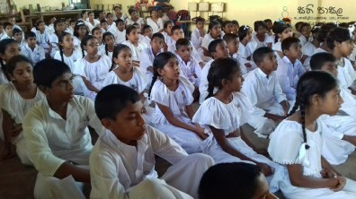 Sati Pasala Mindfulness Programme for Sri Dharmodaya Sunday School (3)