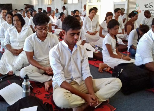 Mindfulness Facilitators Training Programme at Subodharama Peradeniya