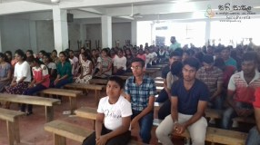 Sati Pasala Mindfulness Programme for Vishva Institute, Mawanella (1)