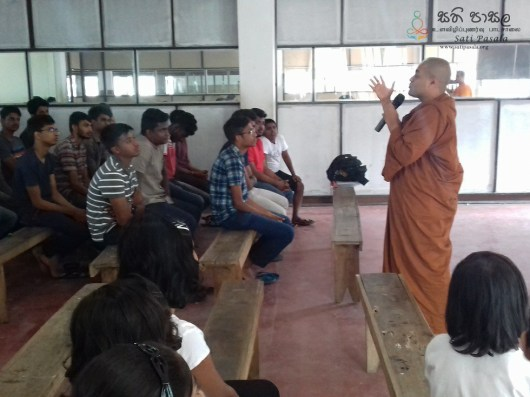 Sati Pasala Mindfulness Programme for Vishva Institute, Mawanella (23)