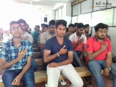 Sati Pasala Mindfulness Programme for Vishva Institute, Mawanella (27)