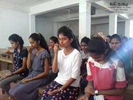 Sati Pasala Mindfulness Programme for Vishva Institute, Mawanella (8)
