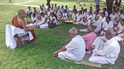 Sati Pasala programme at Anuradhapura