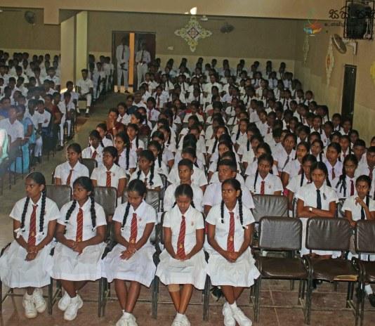 Sati Pasala Programme at Wikramabhahu Madya Maha Vidyalaya - 11th January 2019