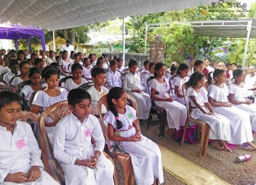 Sati Pasala programme at Jayanimala Pahan Arana, Madapatha Piliyandala