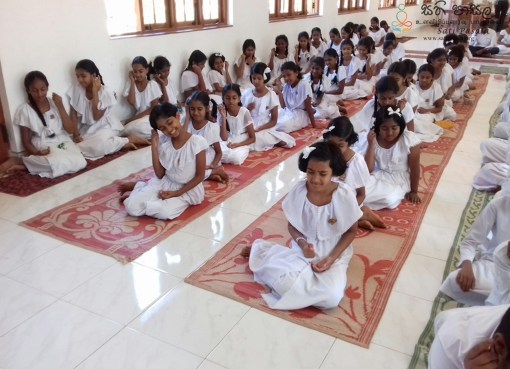 Sati Pasala Mindfulness Programme at Kurukudhe Temple, Peradeniya