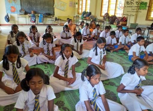 Sati Pasala Programme at Kinalan Tamil School, Ella - 8th February 2019