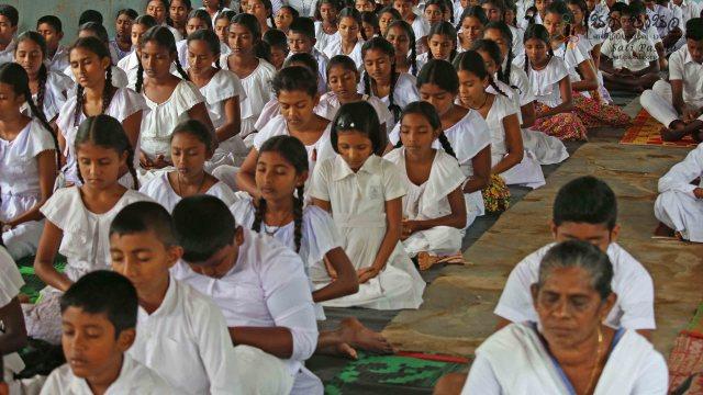 Sati Pasala Programme at Meewellawa Vidyalaya, Thirappane - 27th January 2019