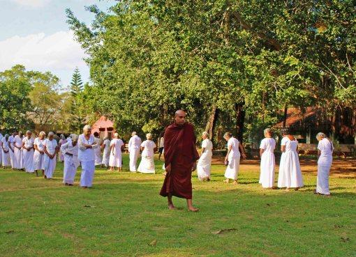 Sati Pasala Programme at Shanthi Sewana Elders Home - 27th January 2019