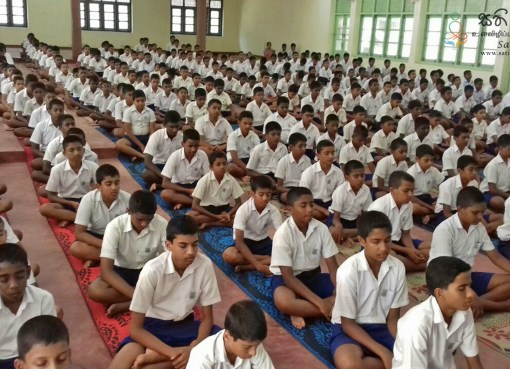 Sati Pasala Programme at St. Thomas College, Matara - 7th & 8th January 2019