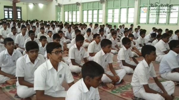 Sati Pasala Programme at St. Thomas College, Matara - 7th & 8th January 2019 (50)