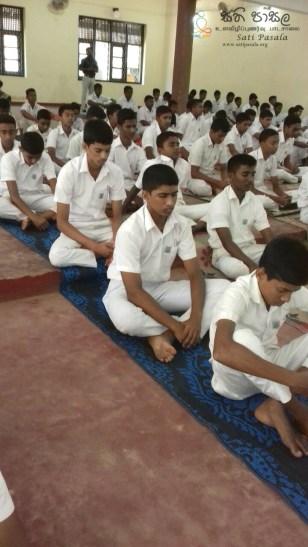 Sati Pasala Programme at St. Thomas College, Matara - 7th & 8th January 2019 (6)