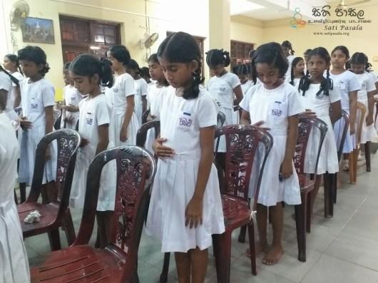 Sati Pasala Programme at Viharamahadevi Balika Vidyalaya - 5th February 2019 (7)