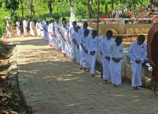 Sati Pasala Programme for Pannilathenna Dhamma School, Gampola - 17th February 2019