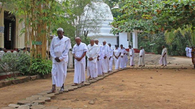 Poya Day Sati Pasala at Shri Seluththararama Maha Viharaya, Werellagama - 19th February 2019