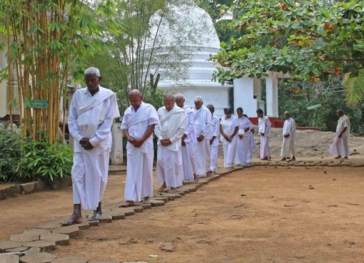 Poya Day Sati Pasala at Shri Seluththararama Maha Viharaya, Werellagama - 19th February 2019