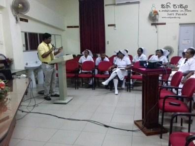 Sati Pasala Mindfulness Programme at Ragama Hospital (15)