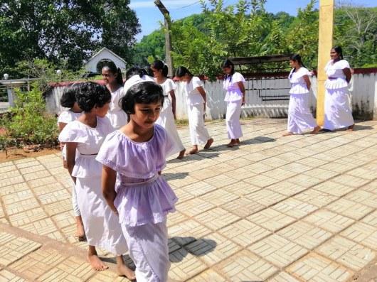 Sati Pasala at Sri Subadraramaya, Boyagama Galigamuwa