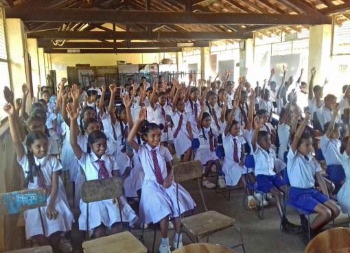 Sati Pasala programme at Dunuhappawa Primary School, Panvila