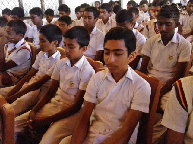 Sati Pasala Introduction Programme at Kadugannawa National School