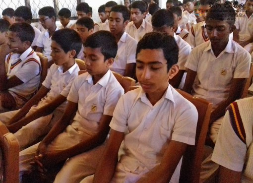 Sati Pasala Introduction Programme at Kadugannawa National School