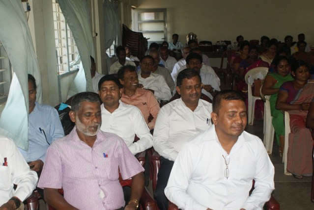 Sati Pasala Mindfulness Programme at Mathale Education Office