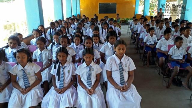 Sati Pasala Programme at Lankathilaka Maha Vidyalaya