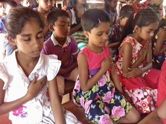 Sati Pasala Programme at Pothgul Viharaya, Angunawela