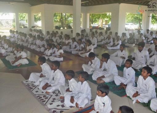 Sati Pasala programme at Sri Sudharmaramaya Temple, Wethara, Polgasowita