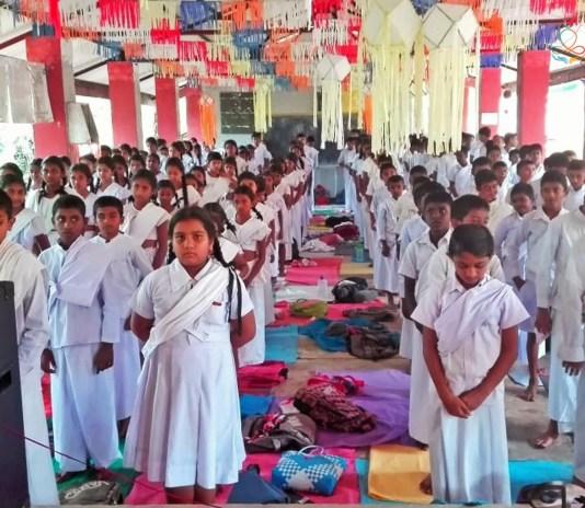 Sati Pasala introduction Program at Delvala Maha Vidyalaya, Delvala, Nivitigala