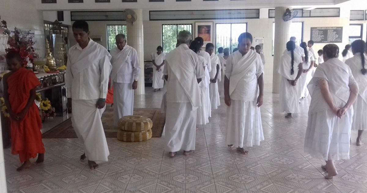 Sati Pasala Mindfulness Programme at Samadhi Cultural Centre at Wattaramthenna