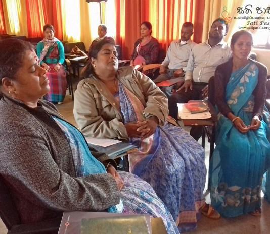 Sati Pasala for Teachers in Nuwara Eliya