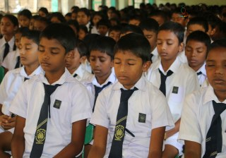 Sati Pasala program at Koongasthenna Maha Vidyalaya