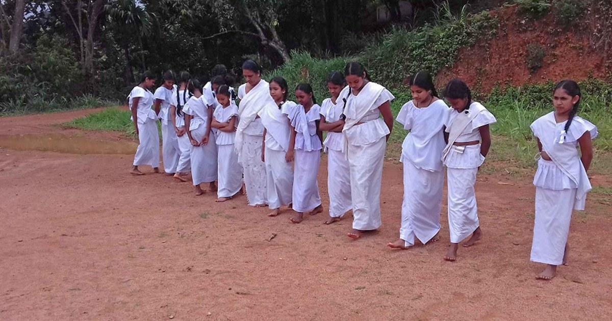 Sati Pasala programme at Sri Saranapala Vidyalaya, Udagama, Ulapane