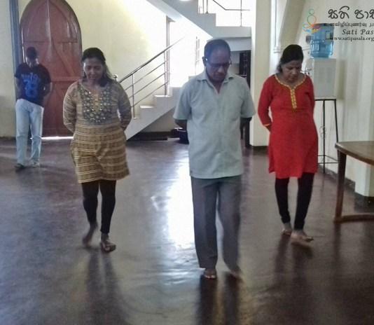 Sati Pasala Mindfulness Program at Christ Church, Kandy