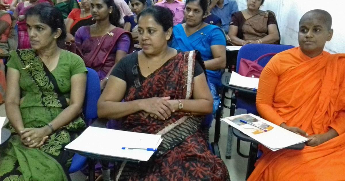 Sati Pasala for Central Province Buddhist Teachers