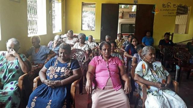Sati Pasala for Elders Home at Mallawapitiya