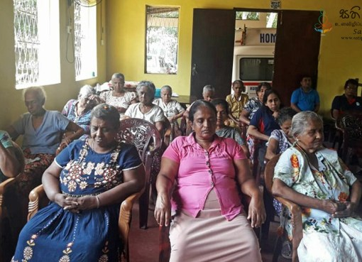 Sati Pasala for Elders Home at Mallawapitiya