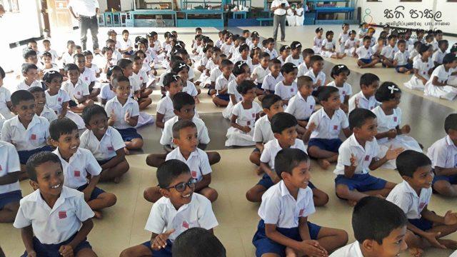 Sati Pasala Program at the Ruwanwella Primary School, Ruwanwella