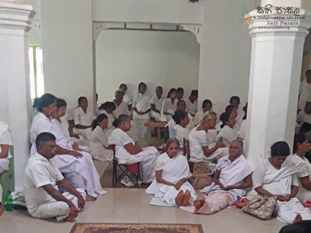 Sati Pasala Program at Divurum Bodhi Viharaya, Ampitiya