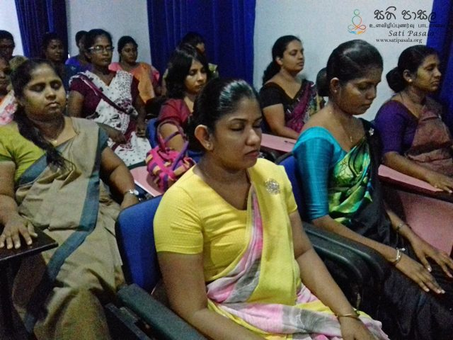 Sati Pasala for Kotahena Central Staff Members