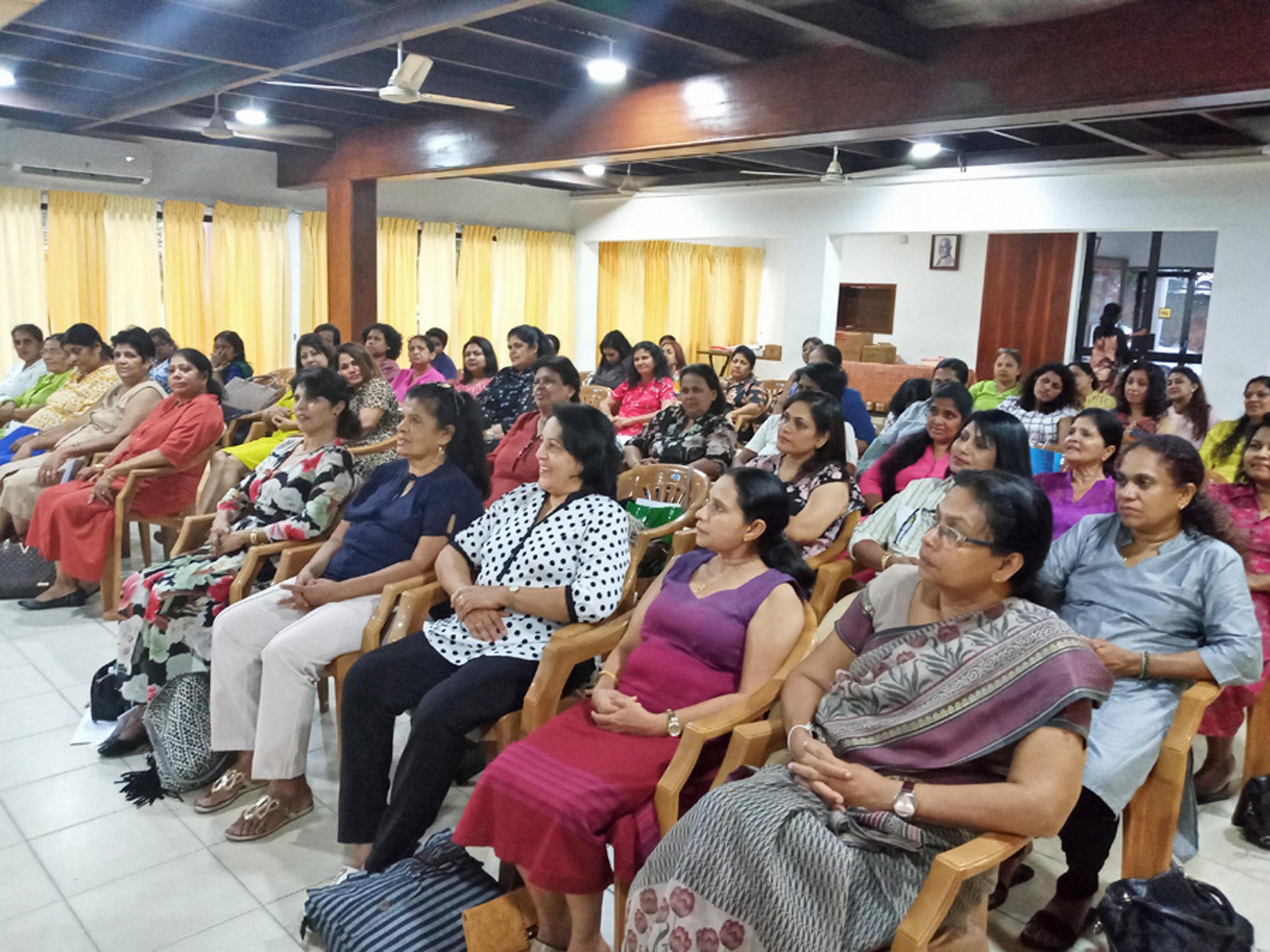Sati Pasala Program at the Lions Activities Center, Rajagiriya