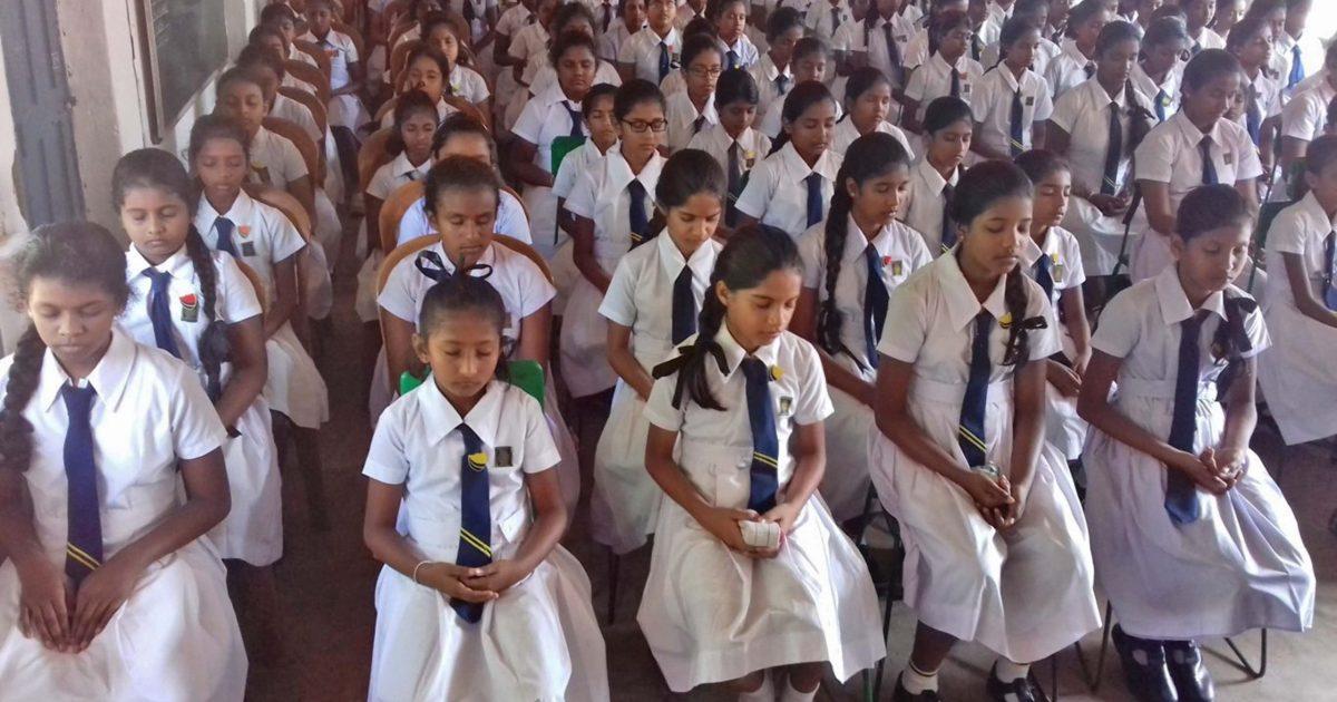 Sati Pasala programme at Wadduwa Balika Vidyalaya, Kaluthara