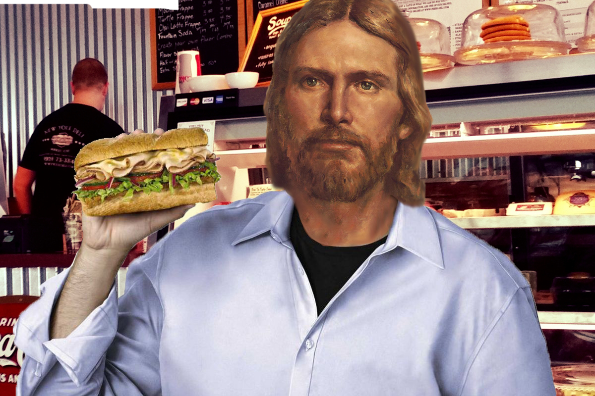 Jesus Christ Announces He's Returned to Try Another Sandwich