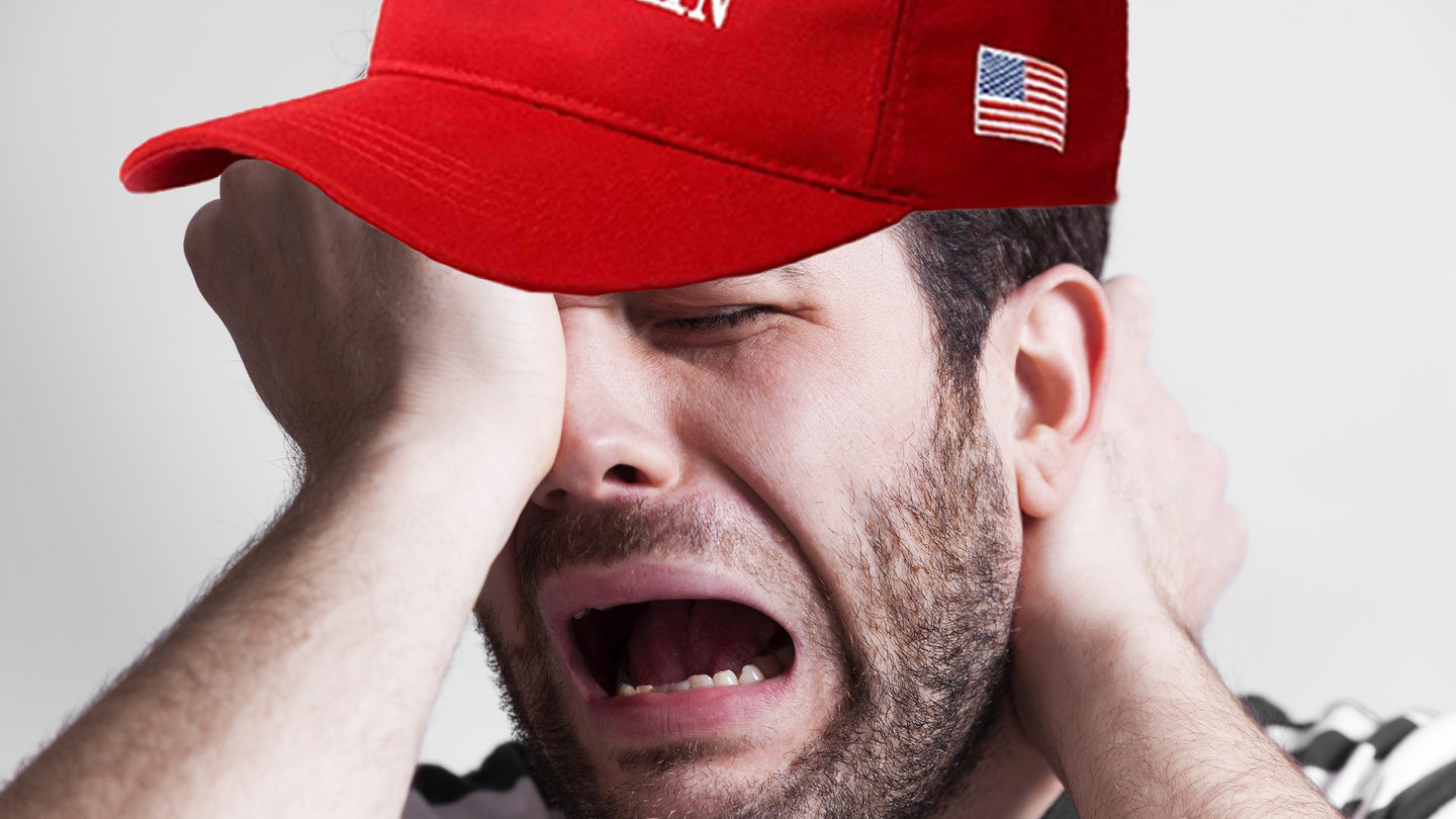 5 Manly Ways to Cry Like a Bitch Because Your Incompetent Bully President Lost to Sleepy Joe