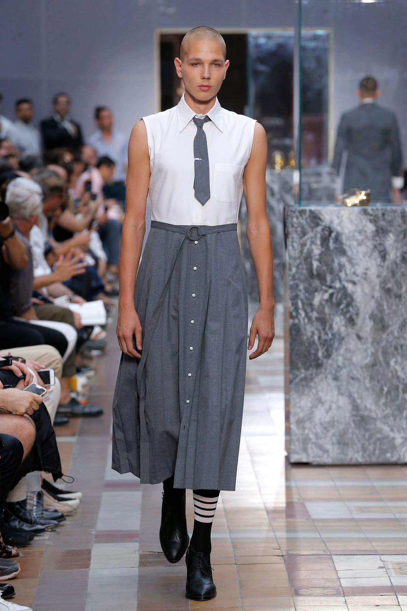 Trend Alert Dress Shirts Maxi dresses Pleated Skirts and High Heels For Men  SatisFashion Uganda