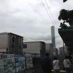 東京入国管理局のバス停