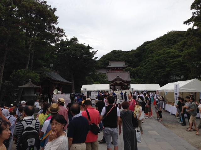 鶴岡八幡宮(内部)