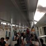 地下鉄内(上海)
