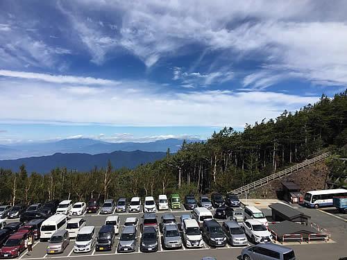 富士山五合目(駐車場側)
